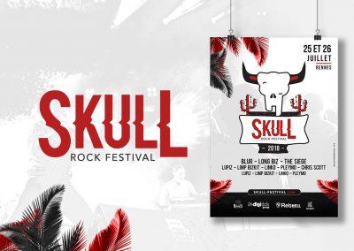 Skull Festival Affiche