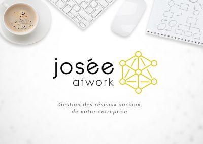 Logo JoséeAtWork