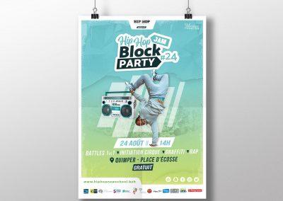 HHNS Affiche Block Party