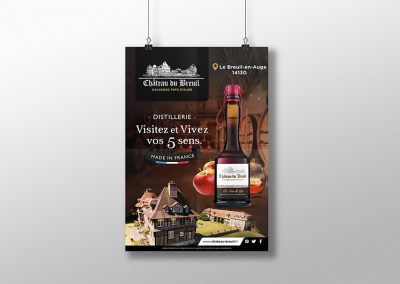 Affiche Château Du Breuil