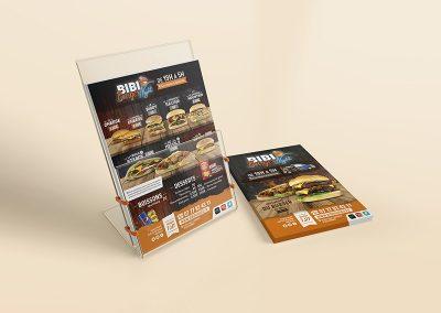 Flyer Bibi Burger